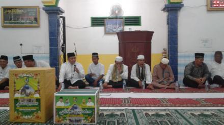 Tim Safari Ramadhan Pemkab Sergai Berikan Pengeras Suara pada BKM Ar-Rahman